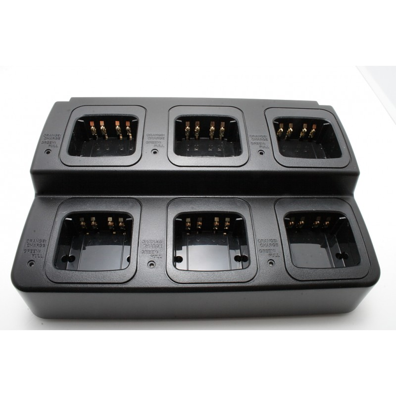 Motorola XPR Series / MotoTurbo 6 Bay Replacement Charger